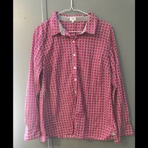 Crown and ivy button up shirt size Large 🌸